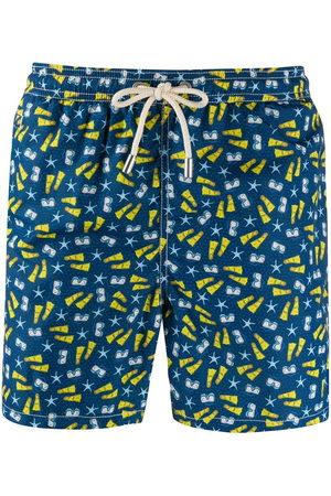 MC2 SAINT BARTH Snorkeling Time-print swim shorts