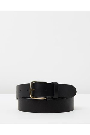 Rodd & Gunn Coronet Crescent Belt - Belts (Nero) Coronet Crescent Belt