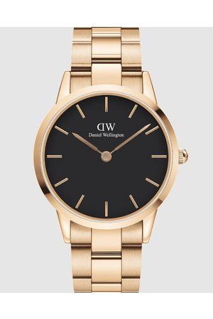 Daniel Wellington Men Watches - Iconic Link 40mm - Watches (Rose ) Iconic Link 40mm