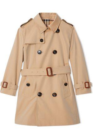 Burberry Kids Cotton gabardine trench coat
