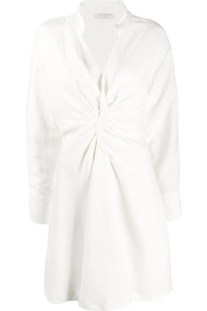 Sandro Women Casual Dresses - Gathered detail shirt dress