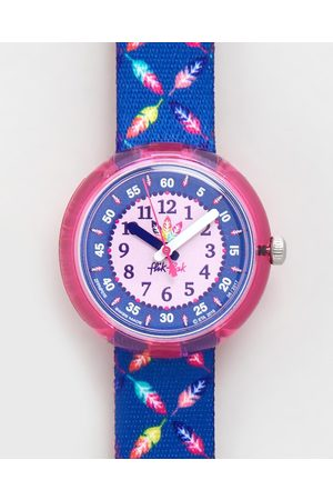 Flik Flak COOL FEATHER - Watches (Navy) COOL FEATHER