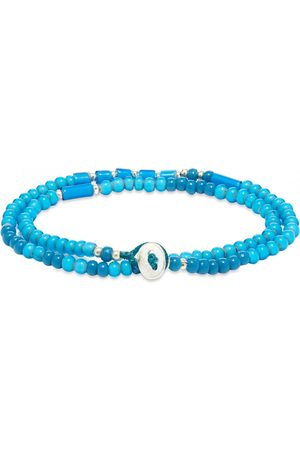 Mikia Double-Wrap Beaded Bracelet