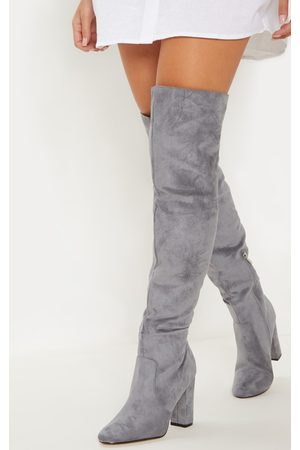 PRETTYLITTLETHING Over The Knee Behati Boot