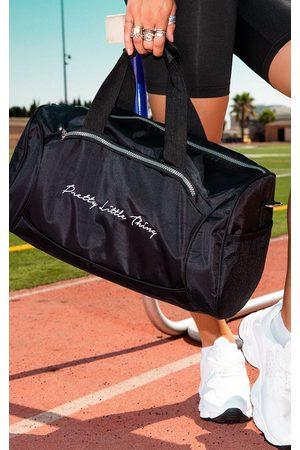 PRETTYLITTLETHING Logo Gym Bag