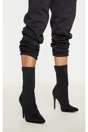 PRETTYLITTLETHING Lycra Sock Boot