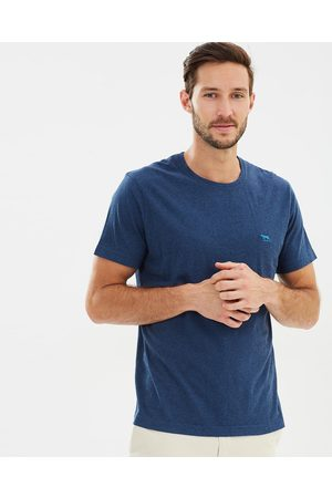 Rodd & Gunn The Gunn T Shirt - T-Shirts & Singlets (Indigo) The Gunn T-Shirt