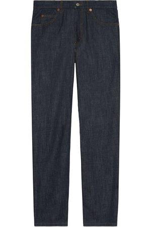 Gucci Men Pants - Washed denim pant