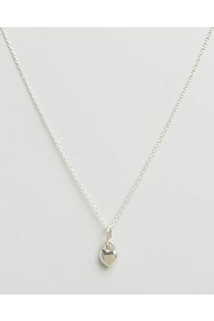 My Little Silver Women Necklaces - Love Lock Pendant & Necklace Kids - Jewellery (Sterling ) Love Lock Pendant & Necklace - Kids
