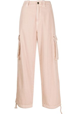 Semicouture Cropped cargo trousers