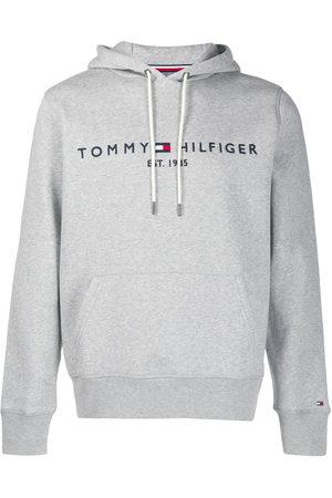 Tommy Hilfiger Men Hoodies - Logo embroidered hoodie