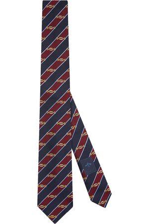 Gucci Interlocking G horsebit jacquard tie