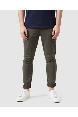 French Connection Slim Fit Chino Pants - Pants (MILITARY ) Slim Fit Chino Pants
