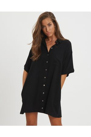 The Fated Finesse Relaxed Shirt Dress - Dresses Finesse Relaxed Shirt Dress