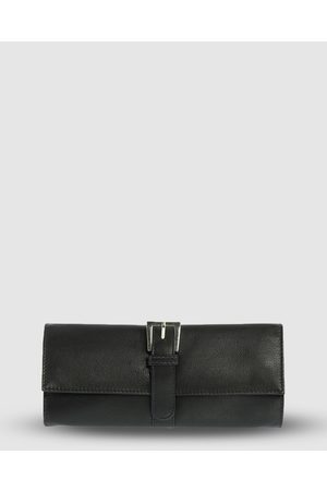 Cobb & Co Julie Leather Jewellery Roll - Jewellery Julie Leather Jewellery Roll