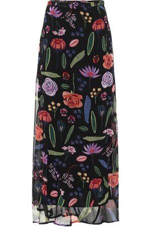 Baum und Pferdgarten Sibyl floral maxi skirt
