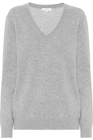 Vince Women Sweaters - V-neck cashmere sweater