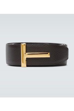 Tom Ford Men Belts - Reversible T leather belt