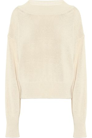 The Row Exclusive to Mytheresa – Cristina cotton and cashmere sweater