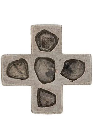 PARTS OF FOUR Mega pavé diamond plus earring