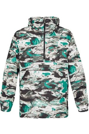 LOUIS VUITTON Men Outdoor Jackets - Surface Planet Print Hooded Safari Jacket