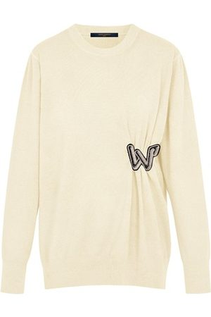LOUIS VUITTON Women Sweaters - Knitted Pullover With Embroidered Patch