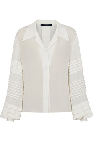 LOUIS VUITTON Women Blouses - Button-Up Blouse With Intricate Sleeves