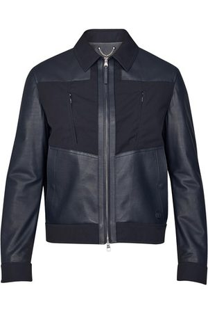 LOUIS VUITTON Men Leather Jackets - Mixed Leather Jacket