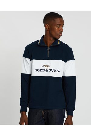 Rodd & Gunn Men Sweatshirts - Foresters Peak Sweat - Sweats (Midnight) Foresters Peak Sweat