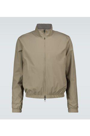 Loro Piana Windmate® reversible bomber jacket