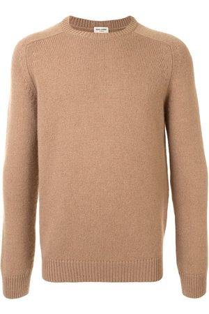 Saint Laurent Men Sweatshirts - Crew neck jumper