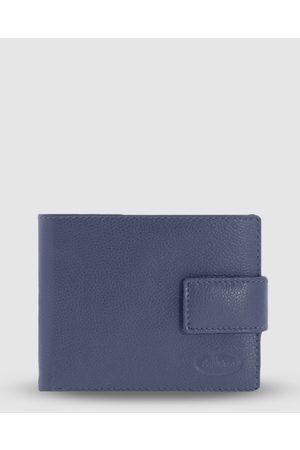 Cobb & Co Jones RFID Safe Leather Wallet - Wallets (Navy) Jones RFID Safe Leather Wallet