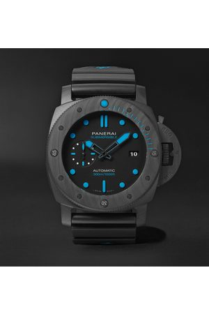 PANERAI Men Watches - Submersible Automatic 47mm Carbotech and Rubber Watch, Ref. No. PNPAM01616