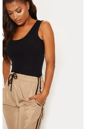 PRETTYLITTLETHING Cami Tops - Fitted Rib Vest