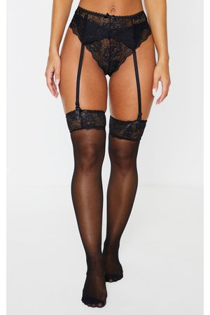 PRETTYLITTLETHING Suspender, Hold Up & Panties Set