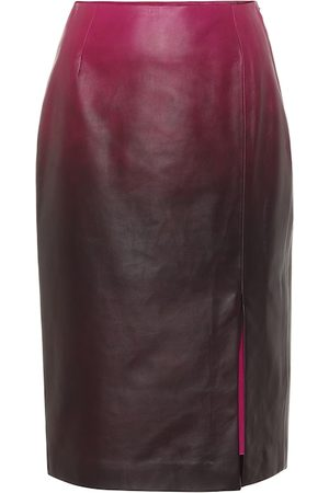 Dorothee Schumacher Degradé Softness leather skirt