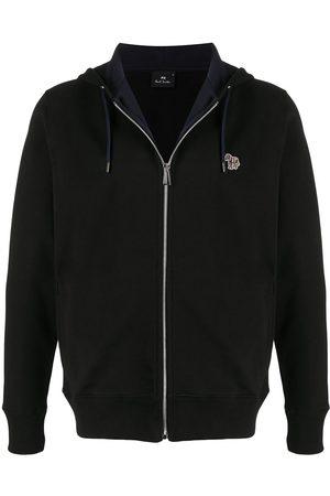 Paul Smith Zip-Front Zebra Logo hoodie