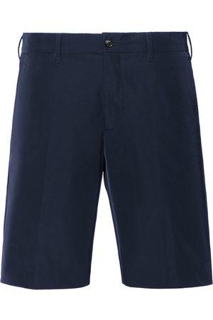 Prada Men Bermudas - Gabardine Bermuda shorts