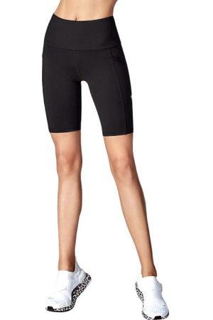 Running Bare Power Move Womens Bike Short Tights