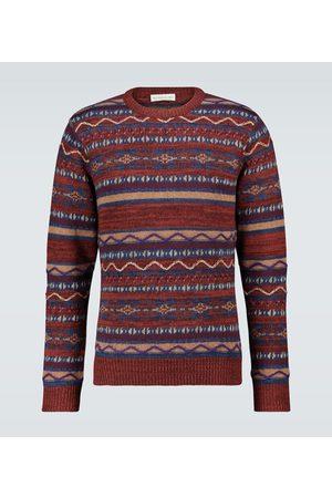 Etro Jacquard patchwork sweater