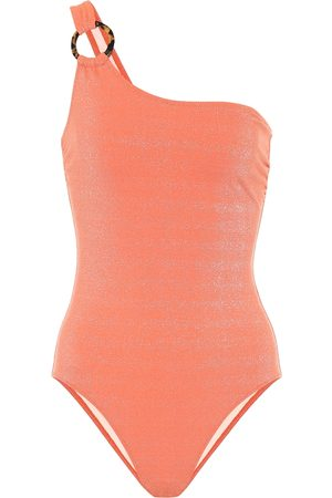 Solid The Juliana one-shoulder swimsuit