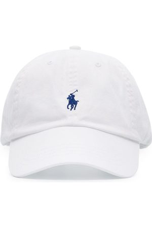Polo Ralph Lauren Men Caps - Logo-embroidered cotton-canvas cap
