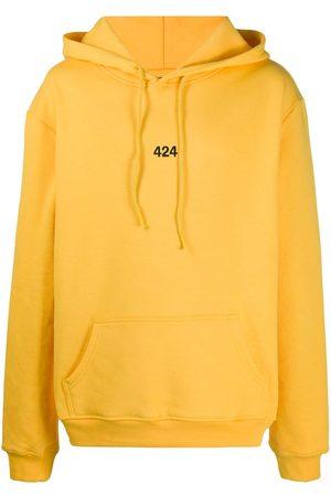 424 FAIRFAX Embroidered logo hoodie