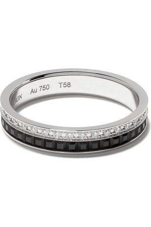 Boucheron 18kt Quatre Black Edition black PVD diamond wedding band