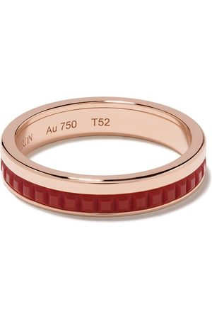 Boucheron 18kt rose gold Quatre Red Edition red ceramic wedding band