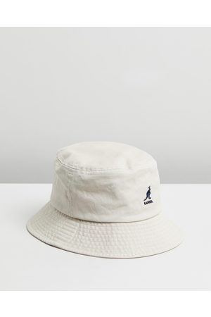 Kangol Washed Bucket Hat - Hats (Khaki) Washed Bucket Hat