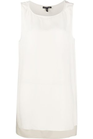 Eileen Fisher Women Tank Tops - Sleeveless silk top