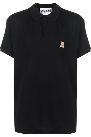 Moschino Teddy bear-patch polo shirt
