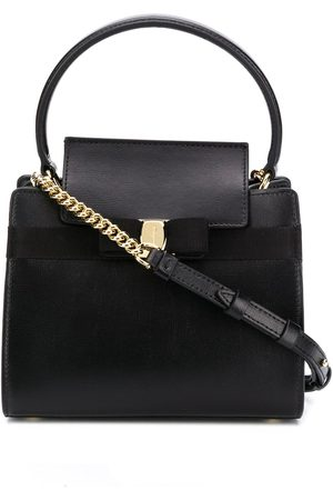 Salvatore Ferragamo Mini bow-embellished tote bag