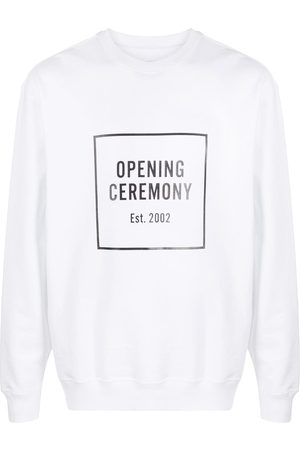 Opening Ceremony Box logo crew neck sweatshirt